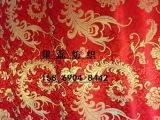 唐装织锦缎 丝绸面料旗袍寿衣 凤尾花 人丝-114 【质量保证】