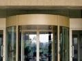 旋转玻璃门 自动玻璃门 玻璃幕墙 无框玻璃门