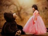 高端女童婚纱礼服 品牌主持人钢琴表演礼服