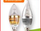 厂家直销led尖泡3We14led蜡烛灯led灯泡大功率拉尾灯泡装潢专用