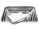 不锈钢方盘 托盘 水果盘 糕盘 烧烤盘 食物盘盆 酒店专用