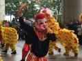 广州南沙醒狮队 开业舞狮队表演