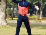 新款拉链运动服 男士秋冬款休闲跑步套装篮球足球训练服