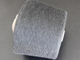 针织大圆机专用纱线色纺纱纯涤麻灰纱32支棉纱