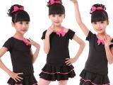 秋冬拉丁舞服女童长袖幼儿童舞蹈演出练功舞蹈衣套装