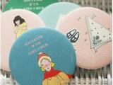 T F619韩国TODAC 甜美可爱卡通小镜子 便携化妆镜 淘宝