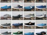 瑞安夏季杂款男鞋耐磨一脚蹬帆布鞋库存处理鞋地摊鞋货源精品特价