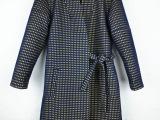 ChooseParty 变色面料 欧美大牌羊绒羊毛超长款女式大衣