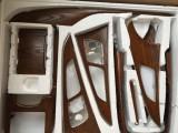 汽车内饰塑料件改装桃木碳纤维件桃木方向盘门板仪表台