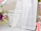 苹果5s日高糖衣透明手机壳套 iPhone5s手机保护套壳 钻壳水钻镶钻