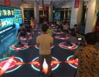 LED地砖屏领域健身房百问互动地砖屏LED舞台屏商业演出屏