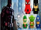 复仇者联盟美国队长苹果卡通充电宝 蜘蛛侠创意移动电源商务礼品