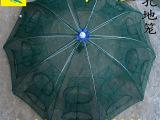 新款20孔自动地笼龙虾网自动加固折叠抓捕