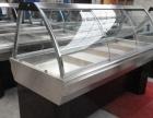 白钢熟食展示柜,超市组合式熟食柜