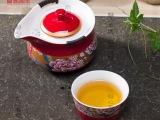 德鸿窑红黄瓷旅行茶具婚庆礼品茶具陶瓷布袋套装 家庭旅游必备