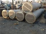 出售二手40平方不锈钢列管冷凝器 二手不锈钢冷凝换热器价格