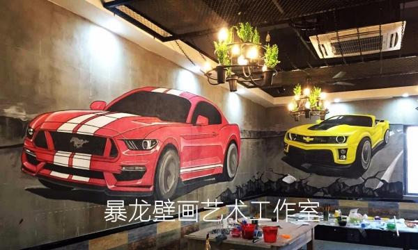 阳江壁画墙绘墙画、KTV、餐厅、网咖涂鸦、装修