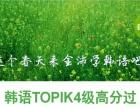 金沛韩语零基础直达中级 TOPIK高分不是梦