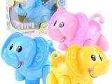 电动卡通玩具 儿童玩具 玩具大象 灯光音乐可混批098A