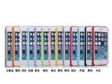 新款创意 超薄0.7mm苹果IPHONE5仿金属塑料边框 海马扣