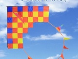 1.6米拼方块大风筝 成人方块三角旗尾巴风筝 158