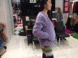 水貂编织彩色女装