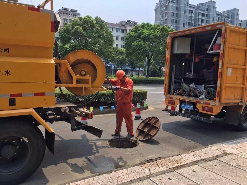 广德管道机器人检测,管道清淤大型下水道疏通清淤