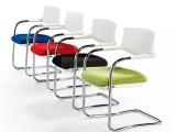 时尚会议椅网布靠背培训椅人工体学办公椅职员椅批发塑钢椅子