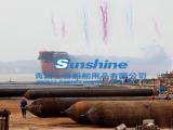 青岛上善缠绕式船用气囊 下水气囊 橡胶气囊 充气橡胶气囊