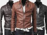新款男装批发 2014秋冬季男式皮衣外套 韩版修身立领 男士皮夹