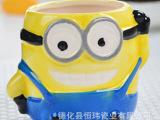 厂家直销 陶瓷慕斯杯 小超人个性 卡通慕斯杯 烘焙模具 批发采购