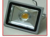 50W聚光投光灯LED户外大功率投光灯带透镜 高档带透镜,LED