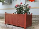 青岛木质花箱公园椅果皮箱垃圾桶大量可免费送货安装