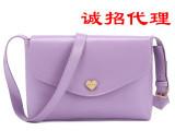 2014韩版潮流女包新款邮差可爱单肩斜挎包小包女士包包潮包袋