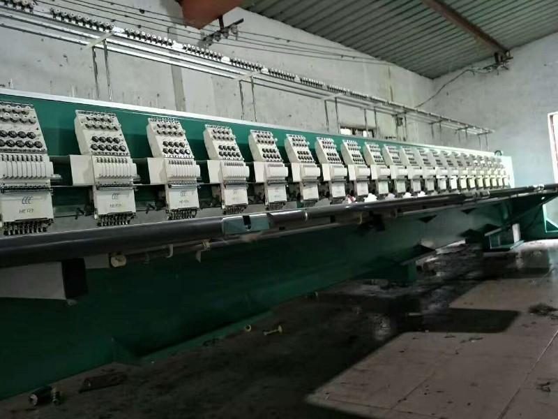 浙江电脑绣花机设备转让,各种型号二手绣花机,价格合适