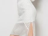 2015夏季新款 欧美高端蕾丝半身裙 时尚修身显瘦打底包臀拼接裙