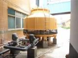 工业冷却塔50吨圆形逆流式玻璃钢冷却水塔散热水塔冷却塔厂家