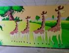 菏泽墙绘彩绘幼儿园文化墙彩绘