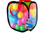 儿童帐篷配套玩具球 彩色乐园球 100粒球海洋球