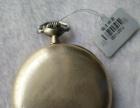 怀表收藏 欧米伽 银质表壳 走时准 欣赏收藏价高
