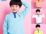 外贸童装清仓长袖韩版 童T恤男特价童装外套批 韩国男童装直批