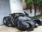 迷人炫酷豪车蝙蝠侠战车模型出租蝙蝠侠战车模型制作