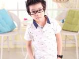 一件代发 惜贝潮流童装 2014韩版潮流爆版 休闲短袖T恤852