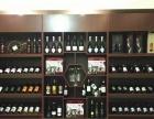 4S店汽车用品展架美容院产品柜欧式烤漆柜木质红酒柜