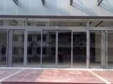 上海浦东东方路玻璃门下沉 自动感应门 电动门维修