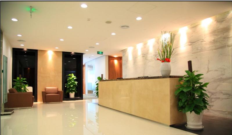 开发商低价招租 中安盛业大厦 精装可注册 落地窗