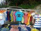 出售一个地摊卖童装的架子!另有100多件衣服!