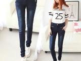 淘宝网店女装代理加盟韩版新款舒适小脚低腰牛仔裤女铅笔裤