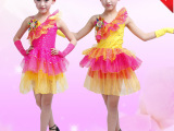 童装演出服舞裙 儿童演出舞蹈服 幼儿园六一儿童节服装表演服