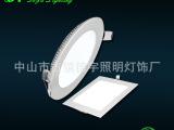 自产自销LED超薄面板灯、18WLED圆形面板灯、开孔200*2